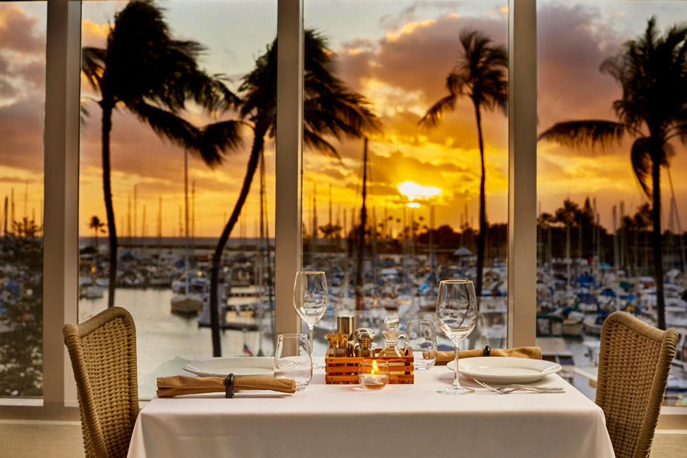 Introducing Waikiki S Latest Culinary Delight 100 Sails Restaurant Bar Offering Signature Views Of Ala Wai Harbor And The Ocean Beyond